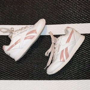 Reebok White and Pink Toddler Size 11